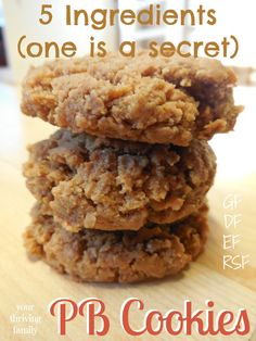 BREAKFAST cookies! That's right... COOKIES for BREAKFAST! You won't believe what the secret ingredient is in these!