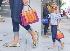Let Olivia Palermo's Shoe Choices Be Your Warm Weather Footwear Style Guide