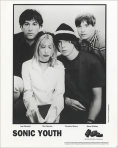 Sonic Youth : Sonic Youth Dirty USA Promo media press pack