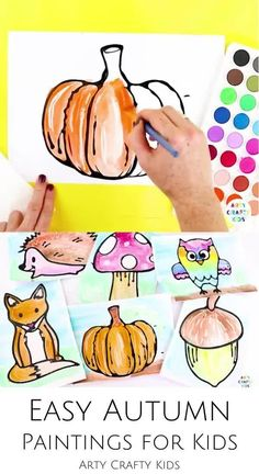 Looking for easy fall art projects for kids to do at home or in the classroom? These fall black glue art projects for kids make easy fall paintings and are perfect for children from preschool through elementary school. Get printable templates for these easy autumn paintings for kids here! Simple Fall Art Projects for Kids | Kindergartens Fall Art Projects for Kids | Autumn Art Ideas for Kids | Easy Autumn Art for Kids | Fall Art for Kids | Fall Arts and Crafts for Kids #FallArt #ArtProjects Fall Arts And Crafts, Easy Fall Crafts, Crafts For Kids To Make, Kid Crafts, Halloween Crafts, Autumn Art Ideas For Kids, Art For Kids, Fall Art Projects, Craft Projects For Kids