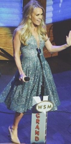 Carrie at 90th Birthday for Grand Ole Opry on 10/3/15
