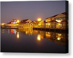 Barefoot Landing  Photograph by Linda Bennett - Barefoot Landing  Fine Art Prints and Posters for Sale