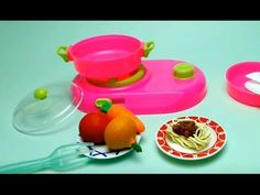 Vegetable Velcro Baby Kitchen Cooking Toys, Baby Cooking Vegetables Cooking Stove Kitchen Playset - YouTube
