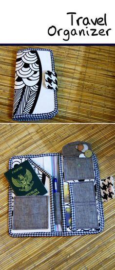 Travel wallet tutorial