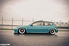 Civic EG6; love this color