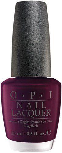 OPI Nail Polish NLI43 Black Cherry Chutney