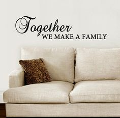 Inspirational Quotes Family Memories Family Wall Decals Quotes - Make custom vinyl wall decals