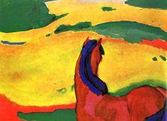 Franz Marc: Expresionismo alemán y Der Blaue Reiter   Trianarts