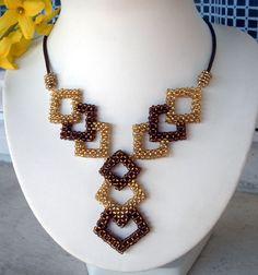 Bead Jewellery, Bead Earrings, Metal Jewelry, Beaded Necklace, Beaded Bracelets, Beading Patterns Free, Beaded Jewelry Patterns, Diy Collier, How To Make Beads