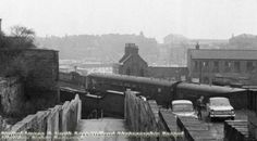 Garners Hill, Nottingham, c 1969 Nottingham Station, Steam Railway, History Photos, Family History, 1960s, The Past, Trains, Victoria, Memories