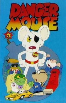 "Danger Mouse  - ""There's a tiddler down me sock..."""