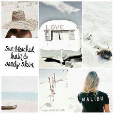 I need summer.....🌞 sun bleached hair & sandy skin! #moodbaord #sunshine #summer #summertime #lifestyle #inspiredbycolor