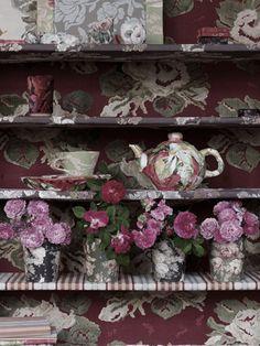 Shabby Chic Interiors, Stalls, Php, Tea Time, Decorative Boxes, Homes, Dining, Interior Design, Retro