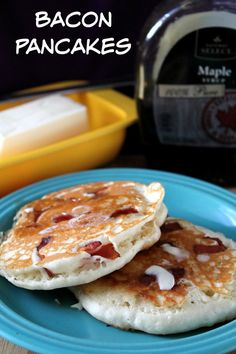 Bacon Pancakes   How to be Awesome on $20 a Day