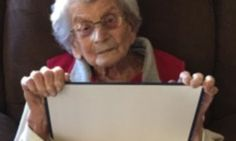 Woman, 102, gets her college degree...SIX DECADES after enrolling #DailyMail