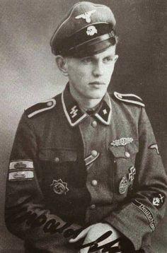 SS-Untersturmführer Ewald Ehm Deutschland Rgt