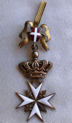 Cross of a Knight of Magistral Grace. #OrderofMalta #SMOM