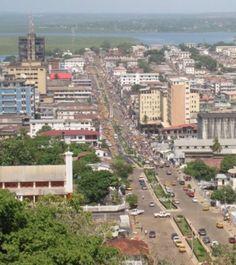 Monrovia, Liberia, West Africa.  Lived here ❥