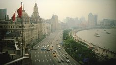 Shanghai China: The Bund. The dichotomy of Old Europe and New Chinese architecture is mesmerizing.