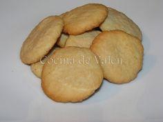 Galletas de coco – Cocina de Valen Sweet Potato, Cookies, Vegetables, Cake, Desserts, Recipes, Food, Coconut Cookies, Shredded Coconut