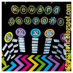 The ultimate positive reward system for classroom management! Make this your summer project!