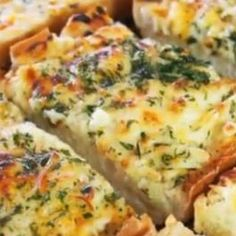 Bubbly Cheese Garlic Bread-I actually tried this and it was easy and great! ~Maddy