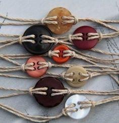 Button braclets