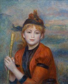 Pierre-Auguste RENOIR (1841-1919), L'Excursionniste, ca. 1888, huile sur toile…