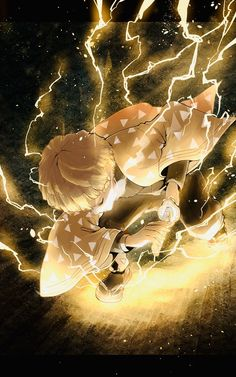 Not my picture I just searched zenitsu online Cool Anime Wallpapers, Anime Wallpaper Live, Animes Wallpapers, Wallpaper Wallpapers, M Anime, Anime Demon, Otaku Anime, Anime Wolf, Anime Hair