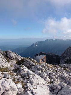 OFIS Architects . Alpine Shelter . Skuta Mountain, Slovenia