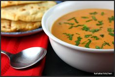 """Kahakai Kitchen: Madhur Jaffrey's """"My Cream of Tomato Soup""""--A Classic Made Indian Style (& Dairy-Free) For Souper (Soup, Salad & Sammie) Su..."""