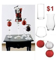 DOLLAR TREE HOME DECOR IDEAS | Holiday decorations for a dollar - Chicago budget decorating ...