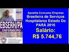 Apostila Concurso Público  EBSERH  PA Enfermeiro 2016