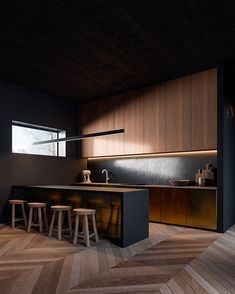 #renderlovers This is kitchen goals🖤 The render make