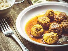 Poivrons farcis à la viande | Une recette SOSCuisine Charcuterie, Mashed Potatoes, Cauliflower, Muffin, Gluten, Chicken, Vegetables, Breakfast, Ethnic Recipes