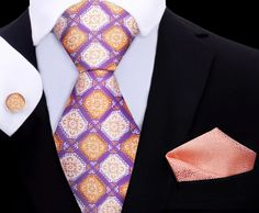 The Boost Abstract Silk Tie, Pocket Square and Cuff-links TwentyDollarTie - High Quality Silk Ties and Bow Ties