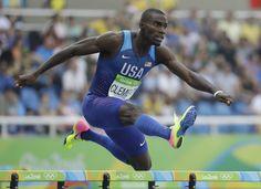 Kerron Clement came to Rio as the favorite in the men's 400 hurdles.  RIO DE…