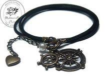 Armband echt Leder - vintage Matrose Claire, Etsy, Bracelets, Vintage, Jewelry, Fashion, Handmade, Wristlets, Schmuck