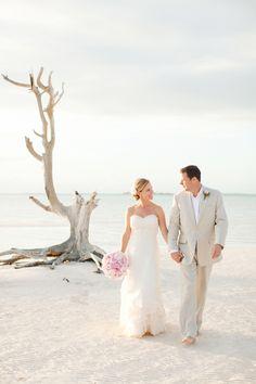 Ocean Side Bahamas Wedding