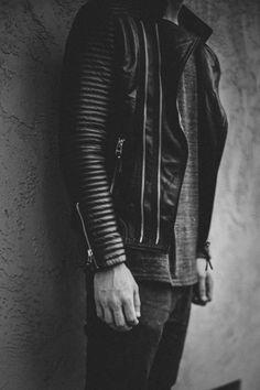 Photo: Edward Honaker | Jacket (Boda Skins). Jeans (Wings + Horns).