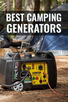 The best RV generators for off-grid camping. Learn what size to get, what an inverter generator is, how to hookup your RV, the quietest generators to buy Quiet Portable Generator, Camping Generator, Portable Inverter Generator, Gas Generator, 5th Wheel Travel Trailers, Fifth Wheel Campers, Fifth Wheel Trailers, Kayak Camping, Truck Camping