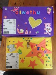 Personalise your box with fun stickers