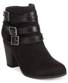 Material Girl Minah Ankle Booties, Only at Macy's
