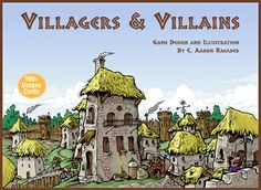 Discovered at GenCon in Indy, this is an easy to learn card game where you create a town and staff it with villagers by drawing and playing cards.  It's entertaining and competitive.