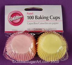 Мини Pastel Cupcake выпечки вкладыши Cup (pkg/100) по Wilton