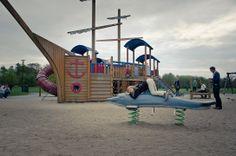 Hav- och Strandlekplatsen   Lekplats Malmö