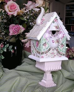 Pink Confection Birdhouse | Flickr - Photo Sharing!