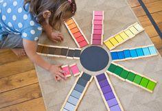 BRICOLAGE //  Activité Montessori : La boîte à couleurs