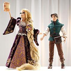 Disney Rapunzel und Flynn - Puppen in limitierter Edition