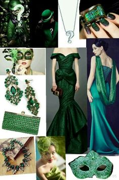 THE RIDDLER | DC Batman Masquerade | #Masquerade Party #Outfit #Fashion #Emerald Green Masquerade Party Outfit, Masquerade Ball Dresses, Masquerade Masks, Party Outfits For Women, Cool Outfits, Fashion Outfits, 40th Birthday Themes, Halloween Outfits, Halloween 2019